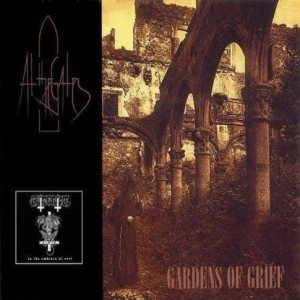Grotesque / At the Gates - Gardens of Grief / in the Embrace of Evil cover art