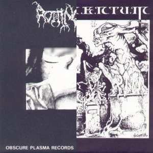 rotting christ rotting christ monumentum 1991 split metal