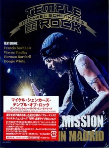 Michael Schenker's Temple Of Rock - On a Mission : Live in Madrid cover art