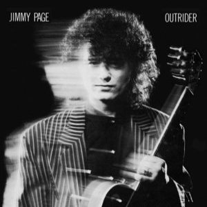 Jimmy Page - Outrider cover art