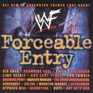 Various Artists - WWF Forceable Entry cover art