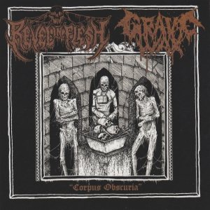 Revel in Flesh / Grave Wax - Corpus Obscuria cover art