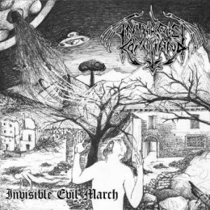 Antikrist Kommand - Invisible Evil March cover art