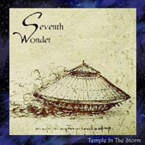 Seventh Wonder - Temple in the Storm cover art