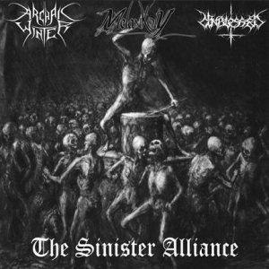 Melancholy / Archaic Winter - The Sinister Alliance cover art