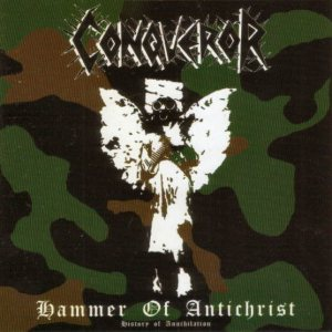 Conqueror - Hammer of Antichrist - History of Annihilation cover art