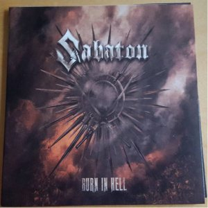 Sabaton - Burn in Hell cover art