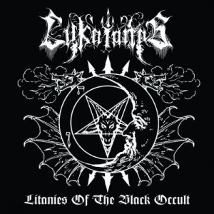 Lykaionas - Litanies of the Black Occult cover art