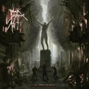 Black Pestilence - In Defiance cover art