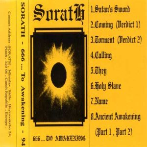 Sorath - 666 ... to Awakening cover art