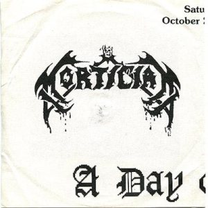 Immolation / Mortician - A Day of Death cover art