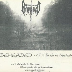 Beheaded - El Valle de la Decisión cover art