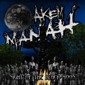 Akem Manah - Night of the Black Moon cover art