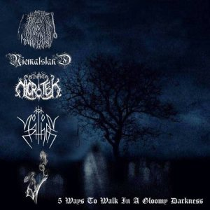 Slow and Painful Mental Wounds / Niemalsland / Northorn / NicroTek / Sett - 5 Ways to Walk in a Gloomy Darkness cover art