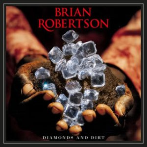 Brian Robertson - Diamonds and Dirt cover art