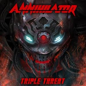 Annihilator - Triple Threat cover art