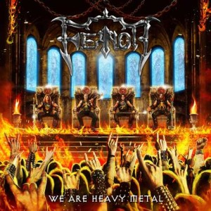 Feanor - We Are Heavy Metal cover art