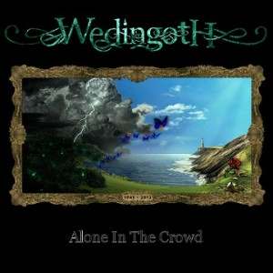 Wedingoth - Alone in the Crowd cover art
