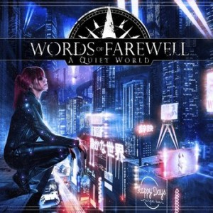 Words of Farewell - A Quiet World cover art