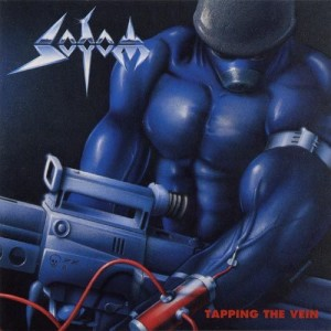 Sodom - Tapping the Vein cover art