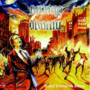 Among Disaster - Blood Demands Blood cover art