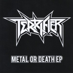 Terrifier - Metal or Death EP cover art