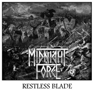 Midnight Force - Restless Blade cover art