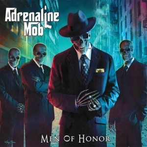 Adrenaline Mob - Men of Honor cover art