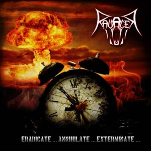 Ravager - Eradicate... Annihilate... Exterminate... cover art
