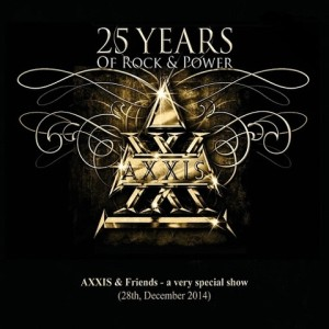 Axxis - 25 Years of Rock and Power cover art