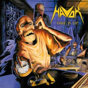 Havok - Time Is Up cover art