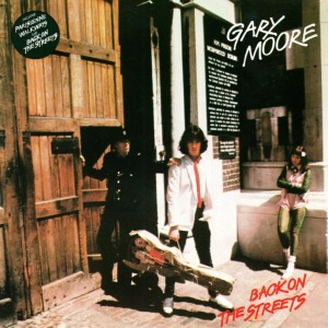 Gary Moore - Back on the Streets cover art