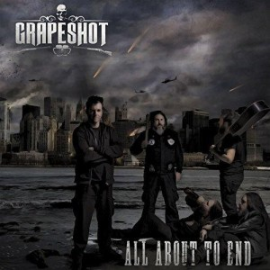 Grapeshot - All About to End cover art