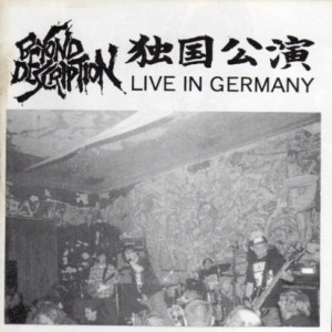 Beyond Description - Live in Germany cover art