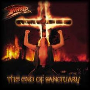 Sinner - The End of Sanctuary cover art