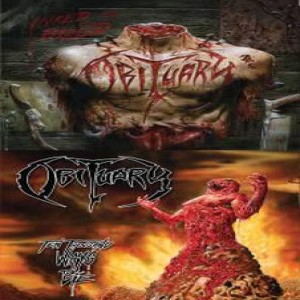 Obituary - Inked in Blood / Ten Thousand Ways to Die cover art