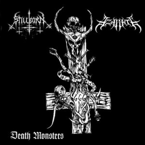 Azarath - Death Monsters cover art