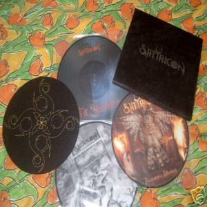 Satyricon - Picture Disc Box Set cover art