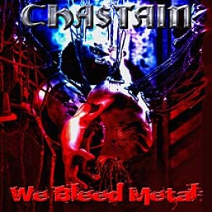 Chastain - We Bleed Metal cover art