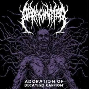 Deracinated - Adoration Of Decaying Carrion cover art