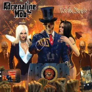 Adrenaline Mob - We the People cover art
