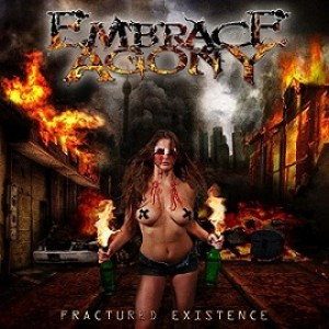 Embrace Agony - Fractured Existence cover art