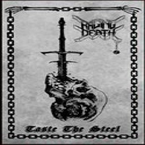 Raging Death - Taste the Steel cover art