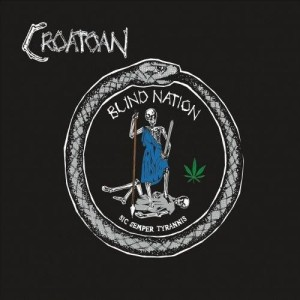 Croatoan - Blind Nation cover art