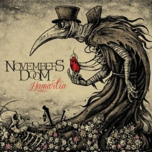 Novembers Doom - Hamartia cover art