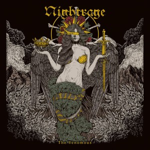 Nightrage - The Venomous cover art
