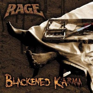 Rage - Blackened Karma cover art