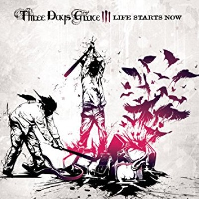 Three Days Grace - Life Starts Now cover art