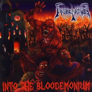 Obsecration - Into the Bloodemonium cover art