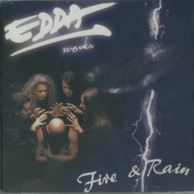 Edda művek - Fire and Rain cover art